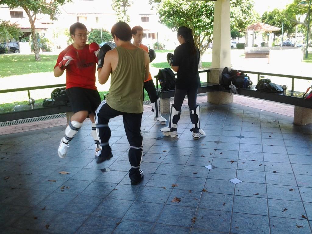 Wing Chun Practice in Singapore
